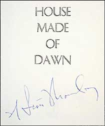 We offered this signed copy of the first edition in our Catalog 75.