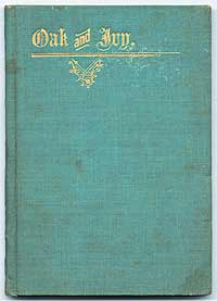We offered this copy of the first edition, in blue cloth, in our Catalog 69.