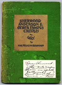 We offered this copy, Sherwood Anderson's own copy with a card from co-author Spratling presenting the book to him, in our Catalog 66.
