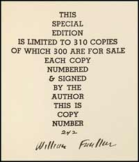 We offered this copy of the limited edition, one of 300 numbered copies signed by the author, in our Catalog 108.