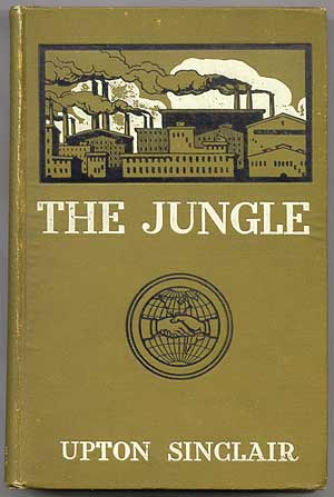 a critique of the jungle by upton sinclair Upton beall sinclair jr  sinclair made a systematic and incriminating critique of the severe limitations of  harold, upton sinclair's the jungle, infobase,.