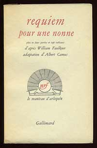 We offered this copy, one of 85 numbered copies of the first French edition, adapted by Albert Camus, in our List 36.
