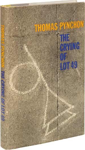 "the unfinished quest in the crying of lot 49 a novel by thomas pynchon 03092012 born in 1962, wallace established himself with ""the broom of the system,"" a comic novel indebted to wittgenstein and thomas pynchon's ""the crying of lot 49,"" and a series of essays and articles that mixed humor and sadness in."