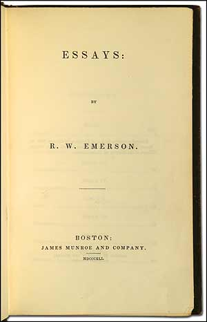 emerson essays