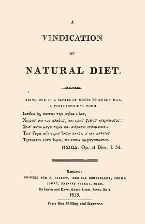 A Vindication of Natural Diet.