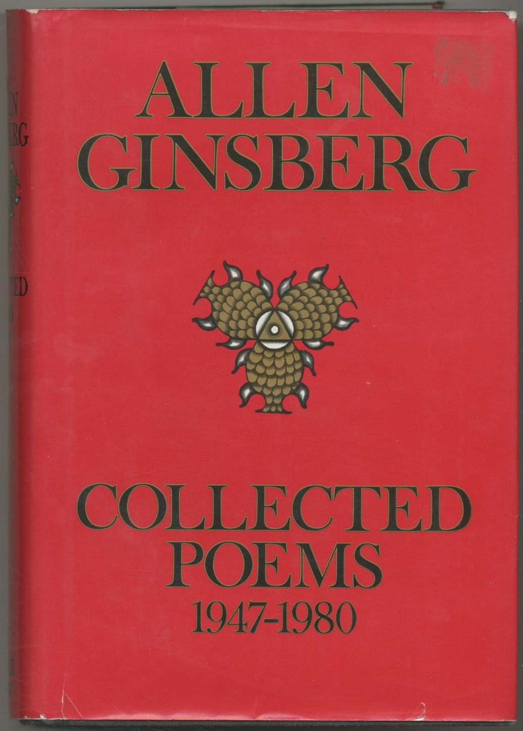 Details About Allen Ginsberg Collected Poems 1947 1980 Signed 1st Edition 1984