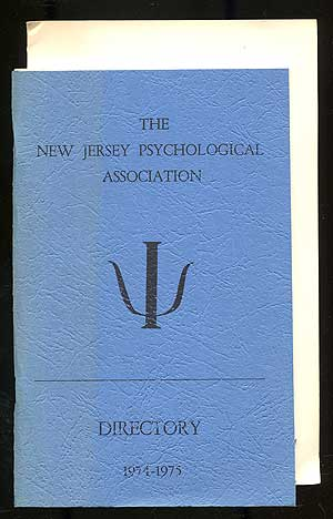 The New Jersey Psychological Association Directory, 1974-1975