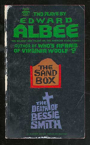 The Sand Box and The Death of Bessie Smith (with Fam and Yam). Edward ALBEE.