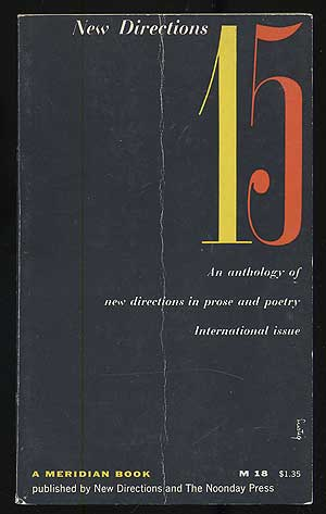 New Directions 15: An Anthology of New Directions in Prose and Poetry