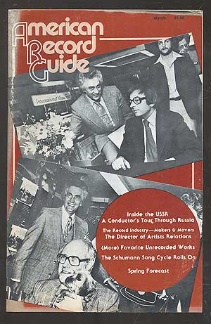 American Record Guide, March 1980, Vol. 43, No. 5. Milton A. CAINE, managing.