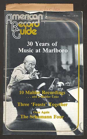American Record Guide, May 1980, Vol. 43, No. 7. Milton A. CAINE, managing.