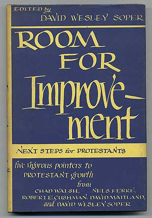 Room for Development: Next Steps for Protestants. David Wesley SOPER.