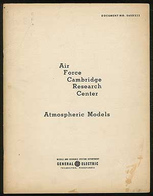 Atmospheric Models - Document No. 56SD233. Air Force Cambridge Research Center.