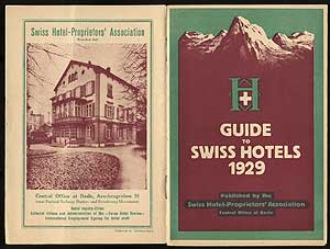 Guide to Swiss Hotels 1929
