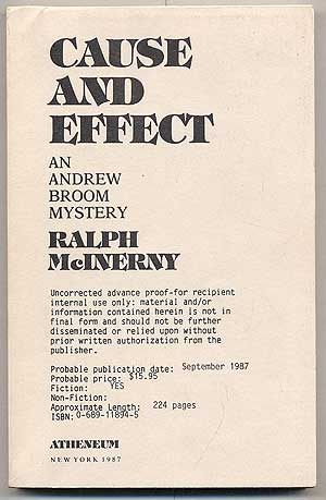 Cause And Effect. Ralph MCINERNY.