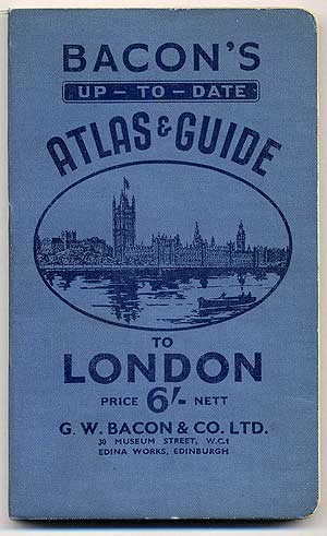 Bacon's up-to-date Pocket Atlas of London