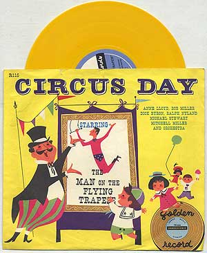 [Vinyl Record]: Circus Day Starring the Man on the Flying Trapeze: Golden Record