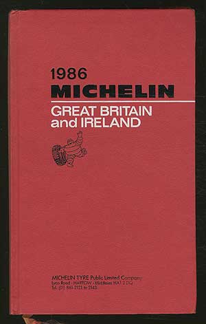 [Cover title]: 1986 Michelin: Great Britain and Ireland