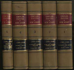 Compiled Statutes of New Jersey
