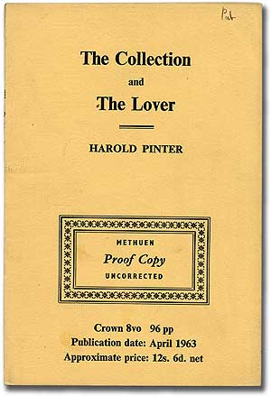 The Collection and The Lover. Harold PINTER.