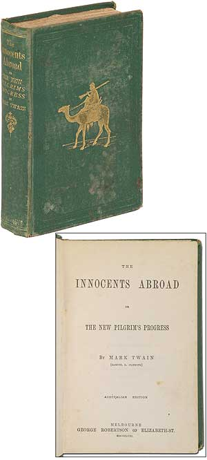 The Innocents Abroad or The New Pilgrim's Progress