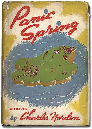 Panic Spring. Lawrence DURRELL, Charles Norden.
