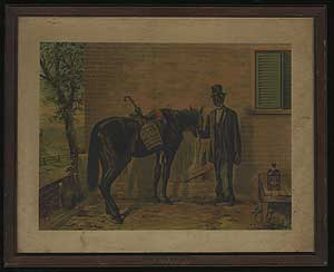 """Lithograph: """"Green River – The Whiskey Without Regrets"""""""
