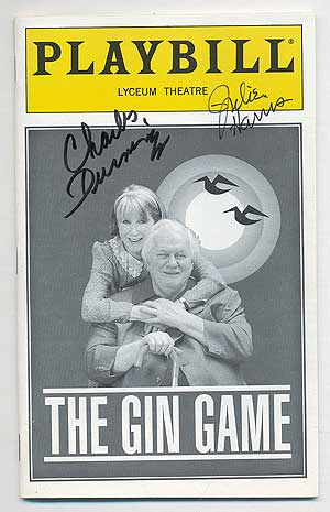 [Playbill]: The Gin Game