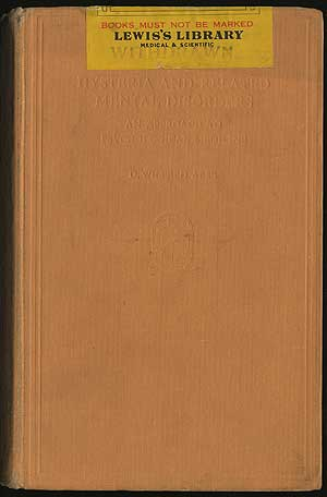 HYSTERIA AND RELATED MENTAL DISORDERS: AN APPROACH TO PSYCHOLOGICAL MEDICINE. D. WILFRED ABSE.