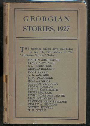 Georgian Stories 1927. Arthur WAUGH, Beatrice Kean Seymour.
