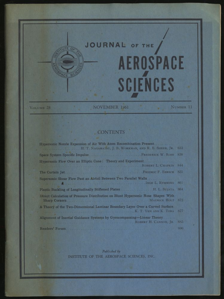 Journal of the Aerospace Sciences