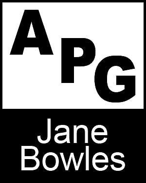 Bibliography, First Edition and Price Guide (APG - Author's Price Guide Series). Jane BOWLES, The Staff of Quill, Inc Brush.