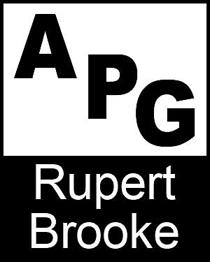 Bibliography, First Edition and Price Guide (APG - Author's Price Guide Series). Rupert BROOKE, The Staff of Quill, Inc Brush.