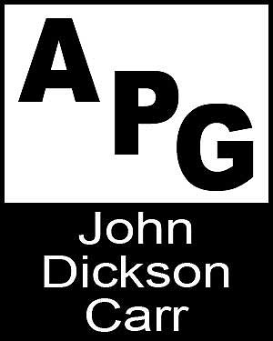 Bibliography, First Edition and Price Guide (APG - Author's Price Guide Series). John Dickson CARR, The Staff of Quill, Inc Brush.