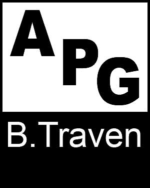 Bibliography, First Edition and Price Guide (APG - Author's Price Guide Series). B. TRAVEN, The Staff of Quill, Inc Brush.