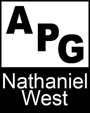 Bibliography, First Edition and Price Guide (APG - Author's Price Guide Series). Nathaniel WEST, The Staff of Quill, Inc Brush.
