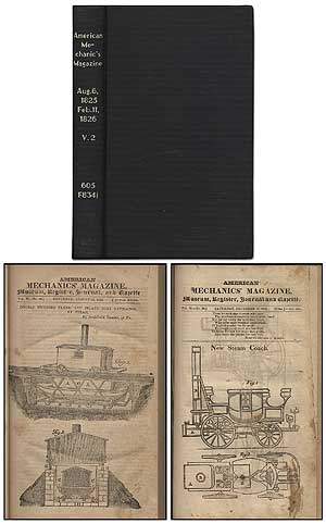 American Mechanics' Magazine, containing useful original matter on subjects connected with...