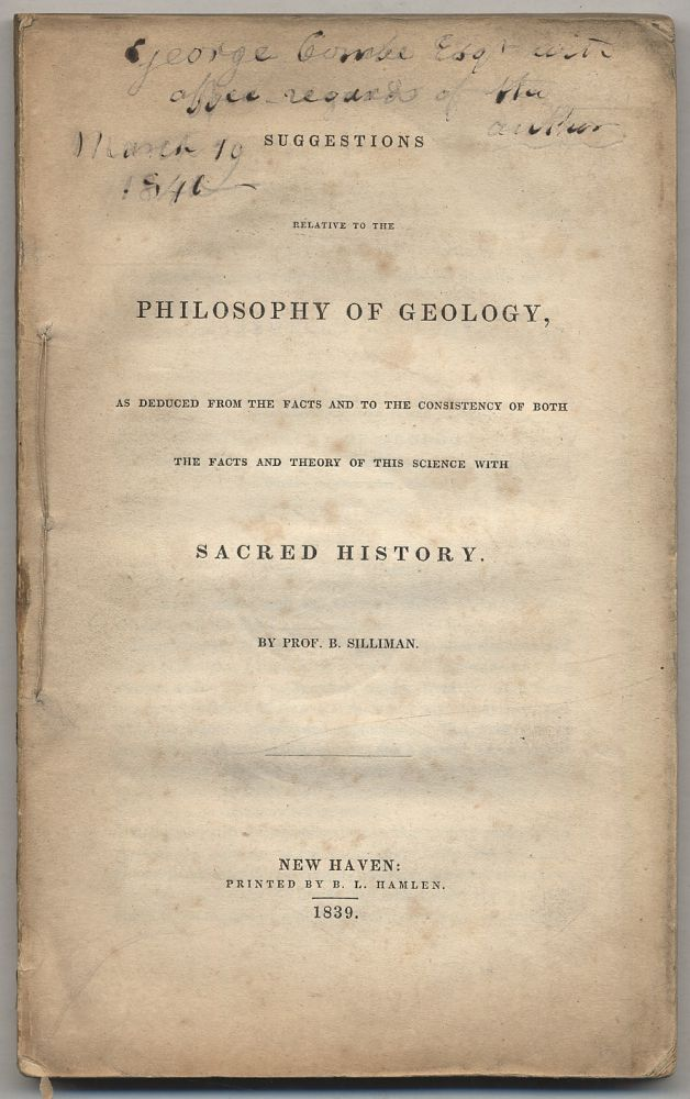 Suggestions Relative to the Philosophy of Geology