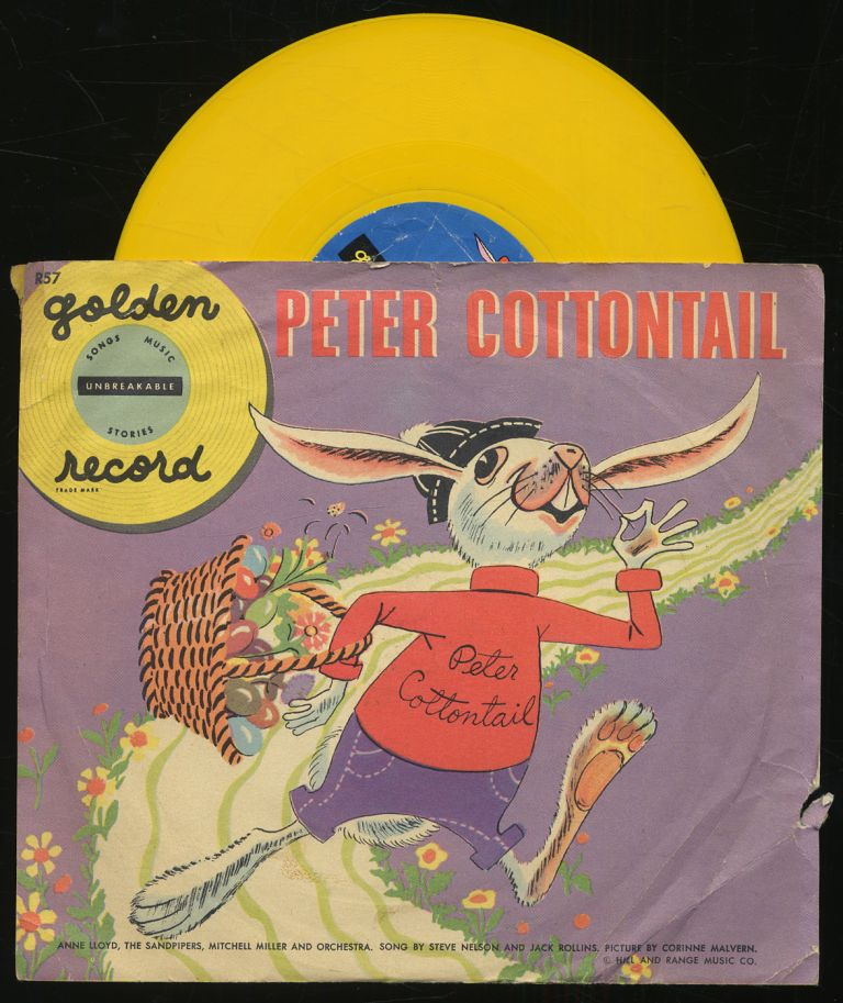 [Vinyl Record]: Peter Cottontail: Golden Record, 78 RPM