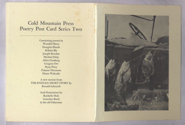 Cold Mountain Poetry Post Card Series Two