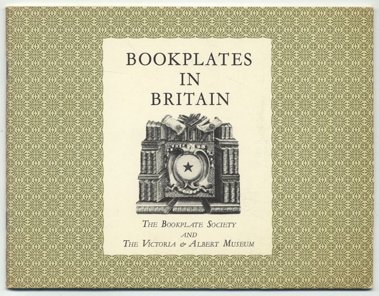 A Brief History of Bookplates in Britain with Reference to Examples at the Victoria & Albert Museum.