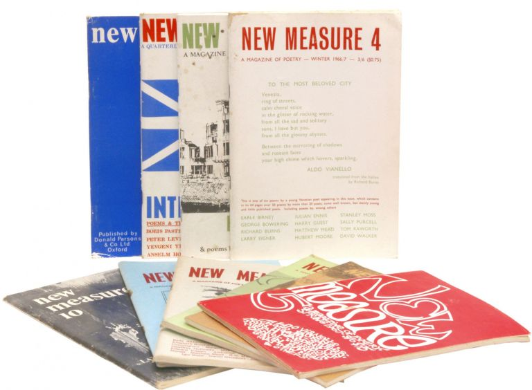 New Measure A Quarterly Magazine of Poetry Volumes 1-10
