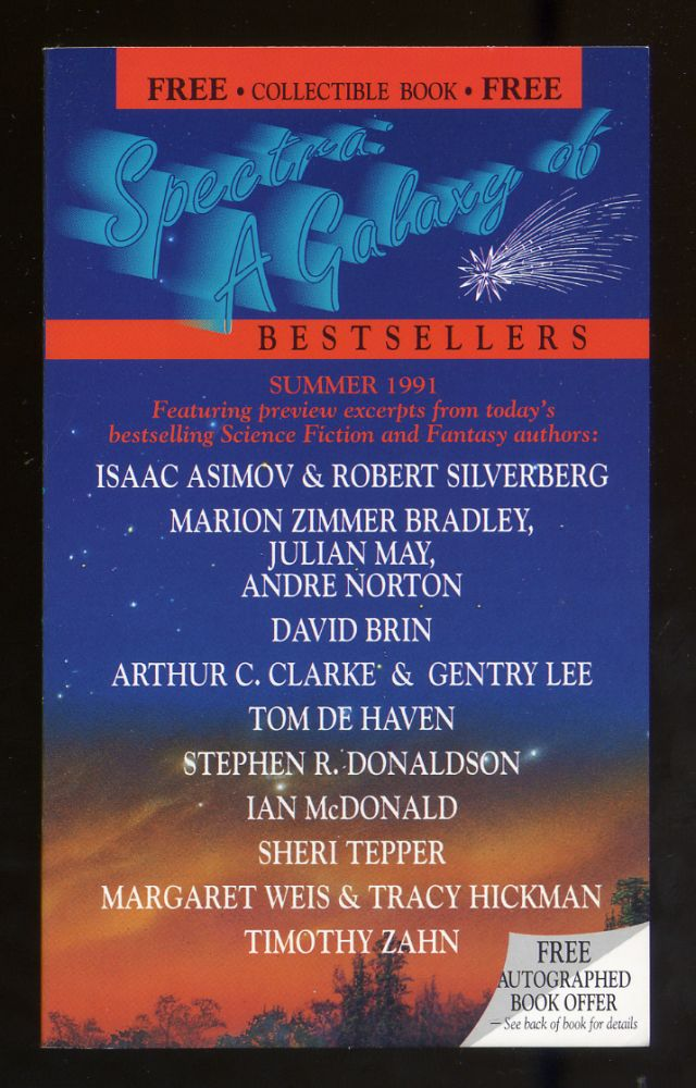 Spectra: A Galaxy of Bestsellers Summer 1991