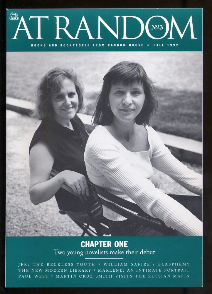 At Random No. 3: Books and Bookpeople from Random House Fall 1992
