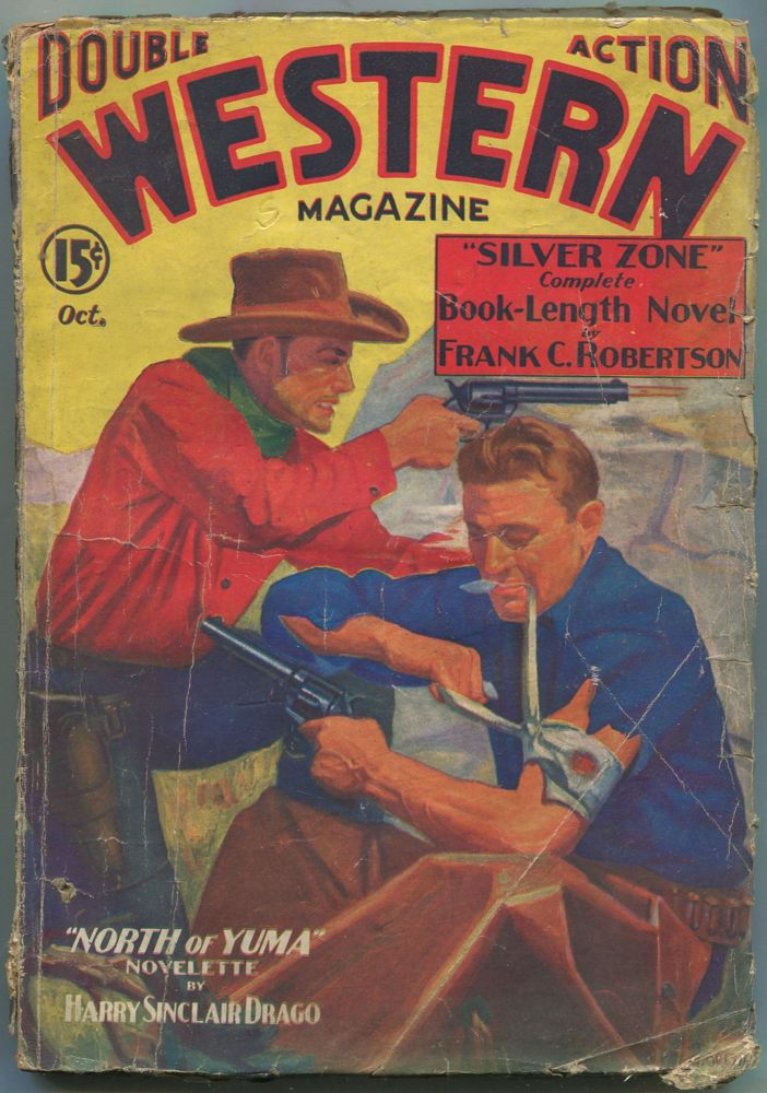 Double Action Western Magazine October, 1935