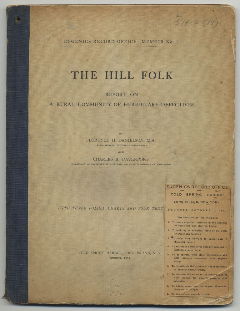 The Hill Folk: Report on a Rural Community of Hereditary Defectives