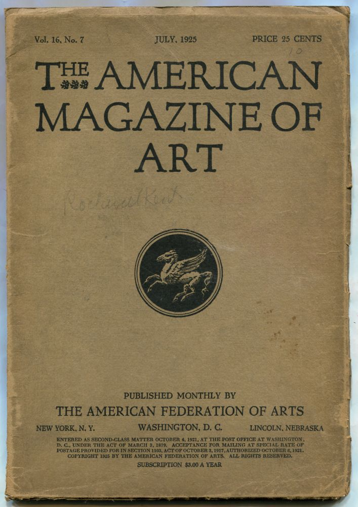 The American Magazine of Art: Volume 16, Number 7, July 1925