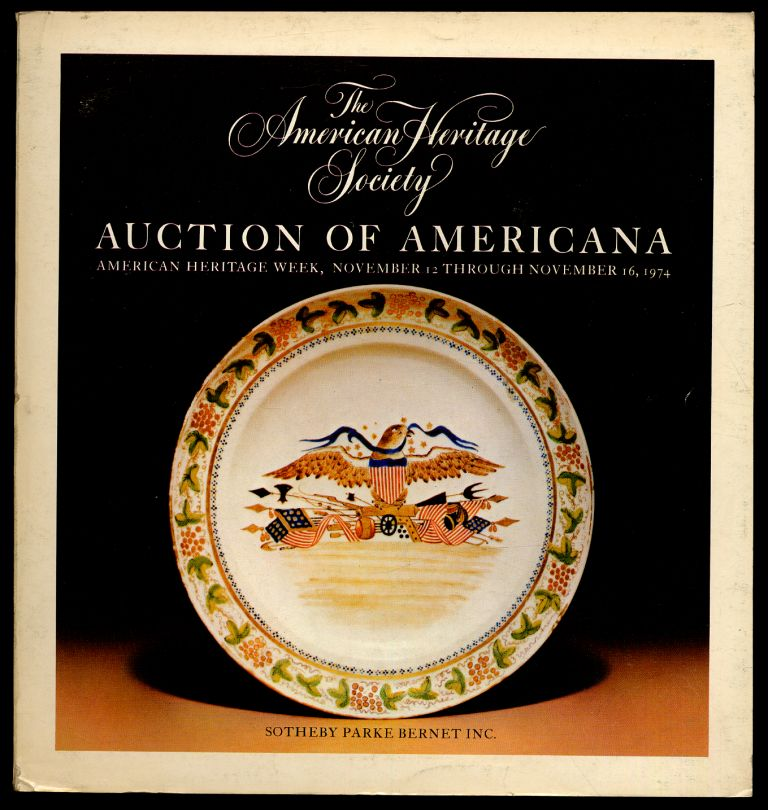 American Heritage Society Auction of Americana