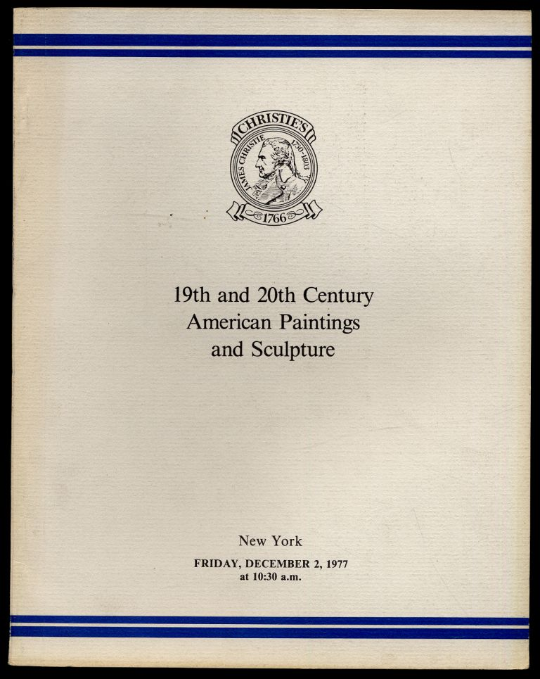 19th and 20th Century American Paintings and Sculpture