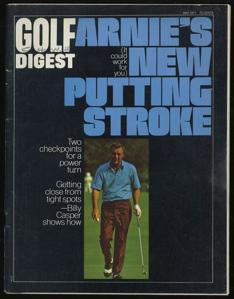 Golf Digest Volume 22 Number 5 May 1971